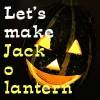 ハロウィンの顔かぼちゃ「可愛いジャックオーランタン」の作り方