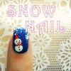 スポンジで簡単!雪を降らせましょ★冬のセルフジェルネイル講座