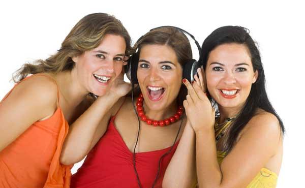 女友達3人組
