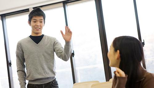 教室内での会話