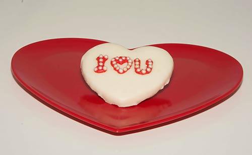 Ilove youと書かれたチョコレート