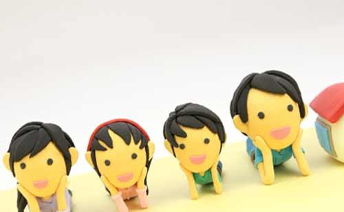 4人家族と家