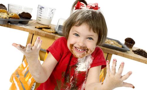 こねくり回したチョコレート怖い
