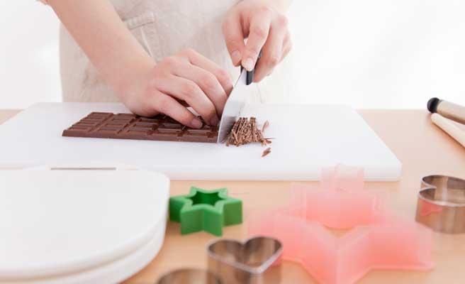 チョコレートつくり