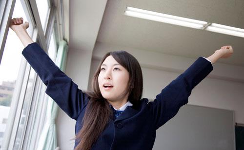 大学デビューをもくろむ女子高生