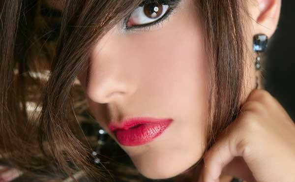 美人風を目指す女性