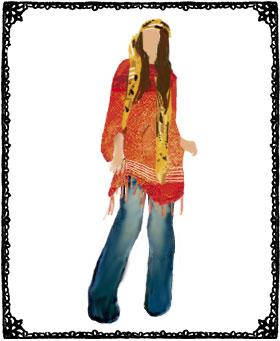 「70年代ファッション」