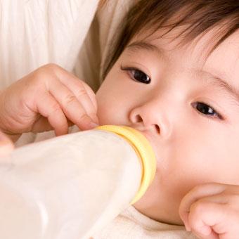 赤ちゃんがミルクを飲む夢