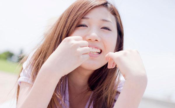 人懐っこい雰囲気の女性はかわいい