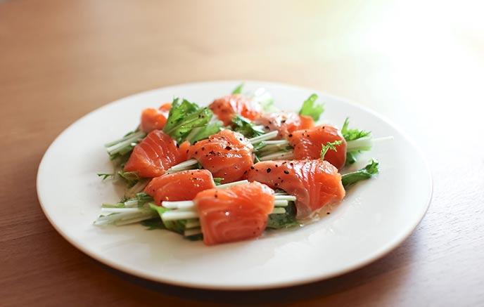 柚子胡椒サラダ