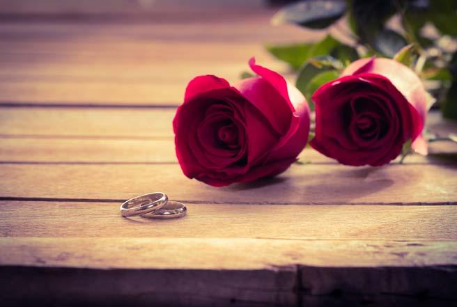 結婚指輪は愛の証