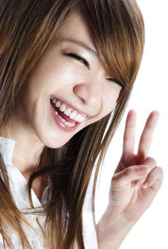 いつも笑顔の女性は男性が守りたいと思える女性