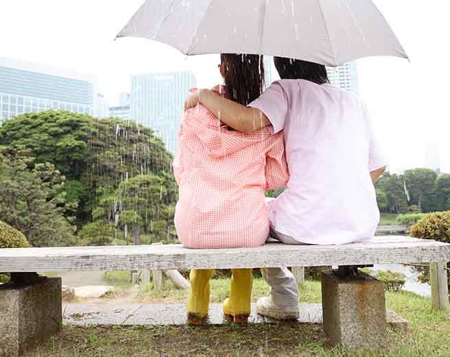 雨デートで彼氏が結婚を決めた瞬間