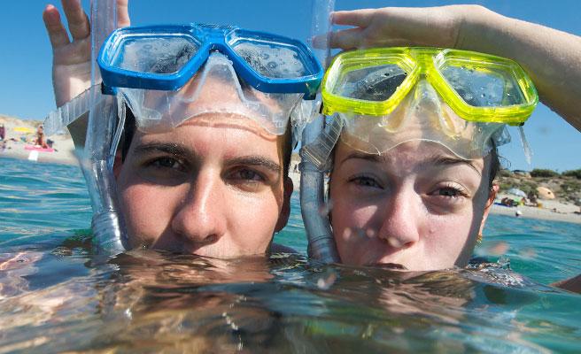 海水浴デート