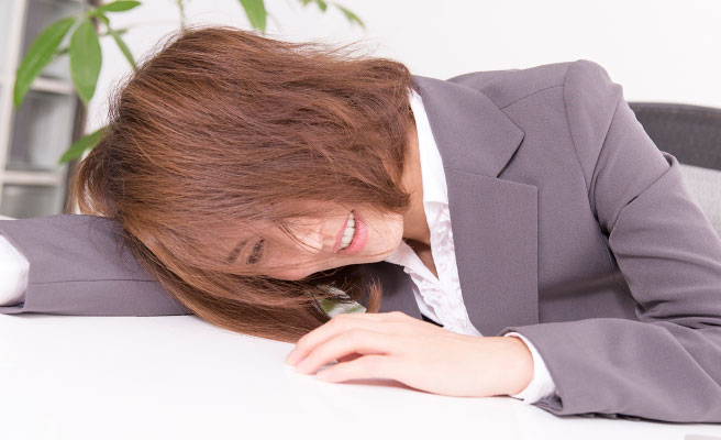 ストレスを溜め込む性格
