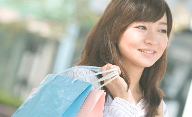 ショッピングに行く