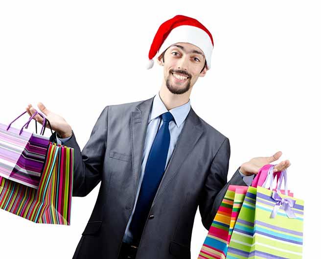 プレゼントを爆買いする彼氏