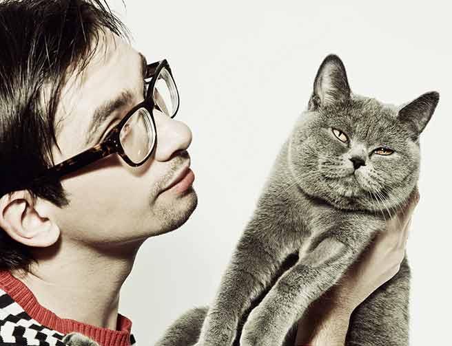ツンデレな猫と男