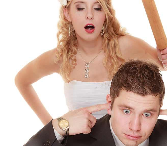 結婚を迫るアラサ―女子