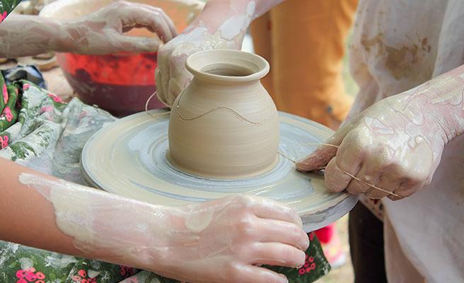 工芸や料理の体験教室