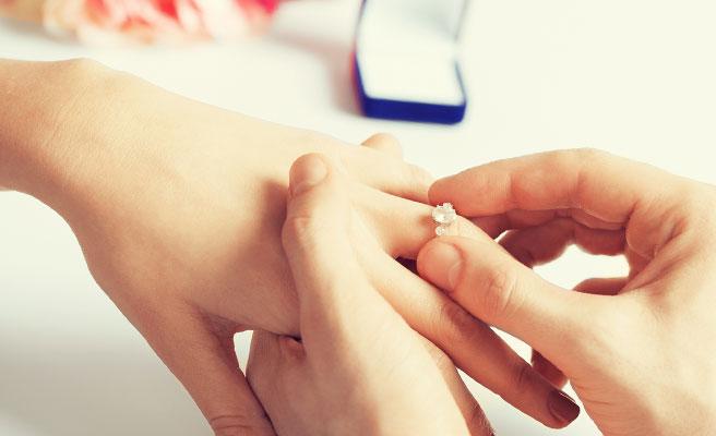 プロポーズの返事