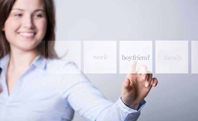 彼氏を選ぶ女性
