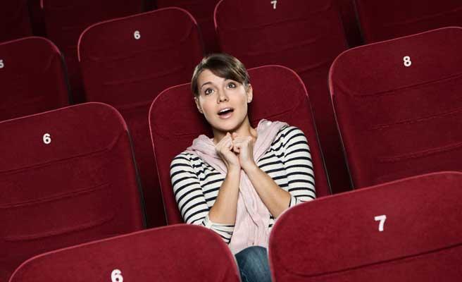 映画が趣味の女性