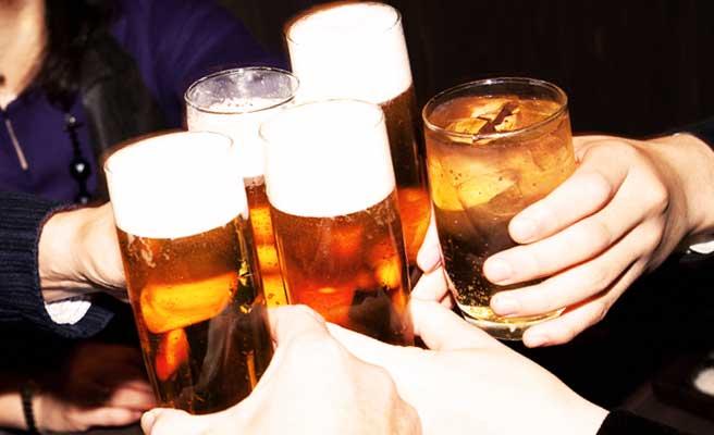 乾杯のタイミング