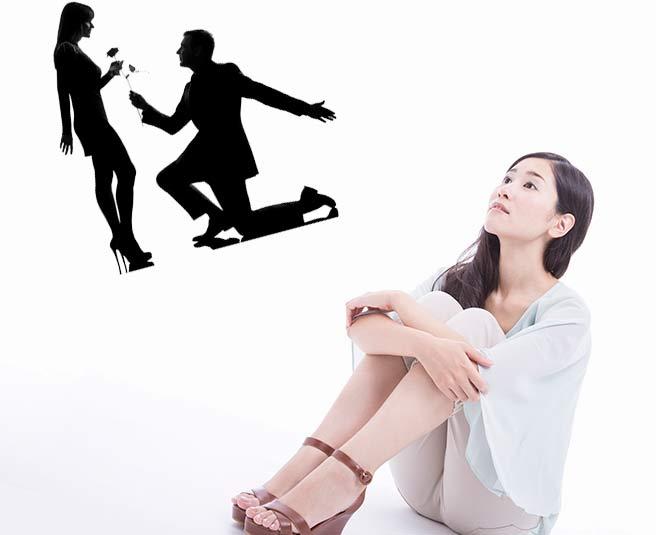 非現実的な恋愛を妄想する恋愛至上主義の女性