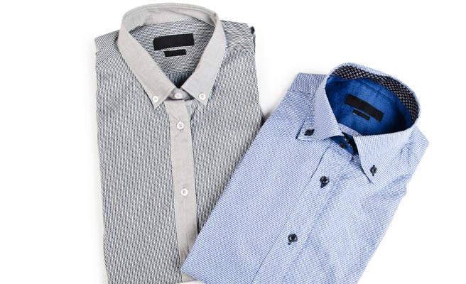 ドレスシャツ2着