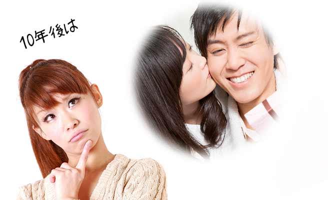 彼氏と他の女性が付き合うさまを想像する女性
