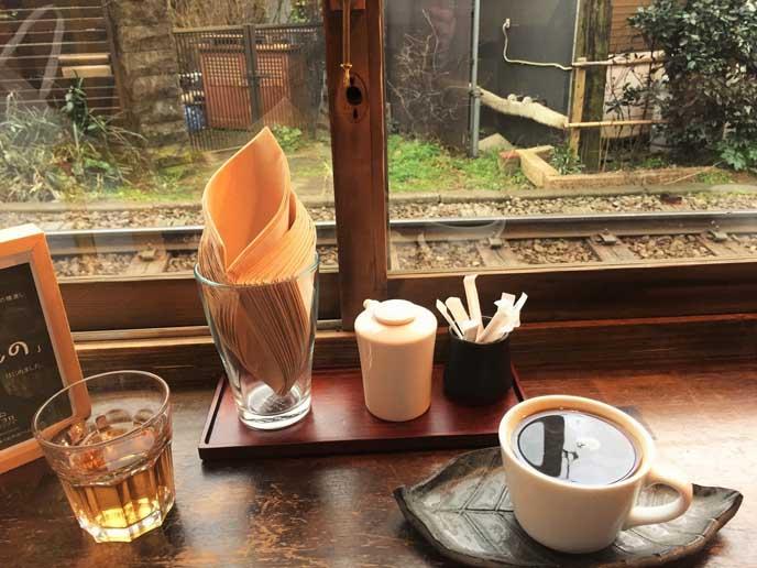 1杯ずつ丁寧に淹れてくれるコーヒー