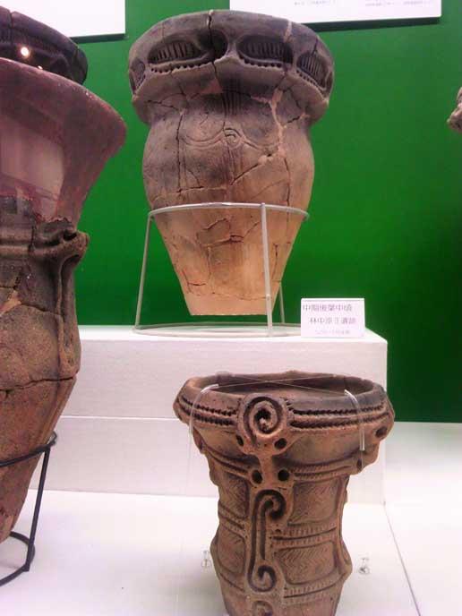 縄文土器の美しさについてふたりで考察してみたり。