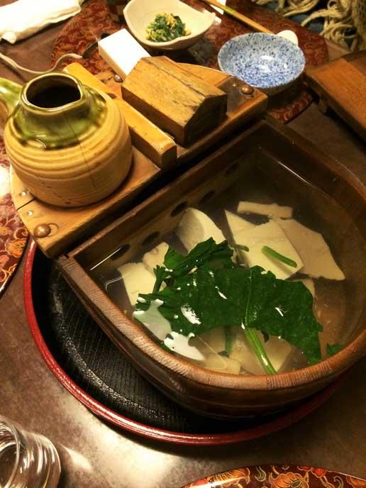 湯豆腐はおかわり自由♪