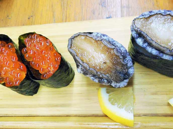 お寿司のネタも新鮮そのもの