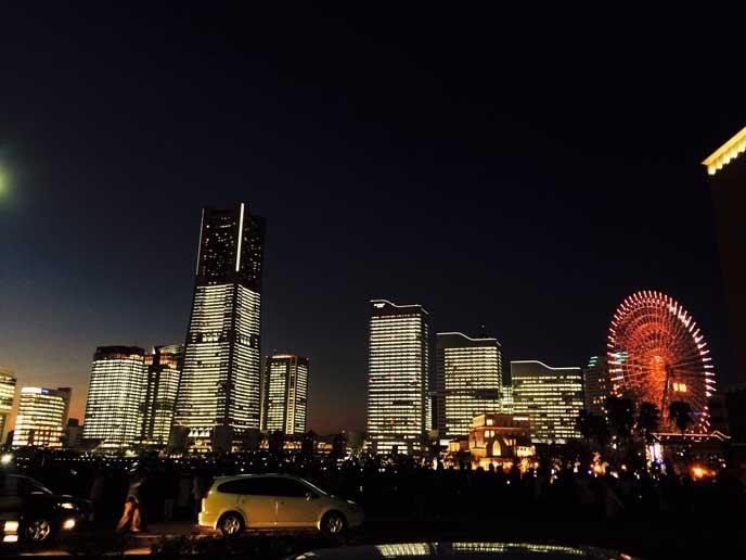 横浜ランドマークタワー周辺