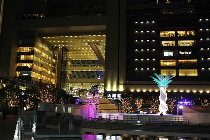 JR大阪駅直結のビルです