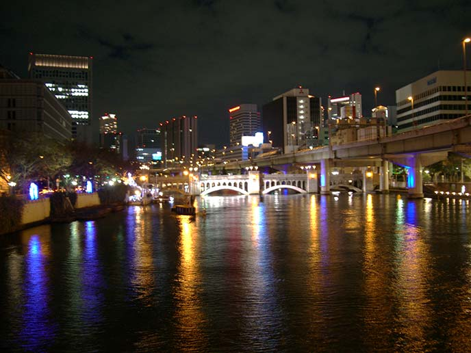 中之島(堂島川&土佐堀川)にかかる橋たち