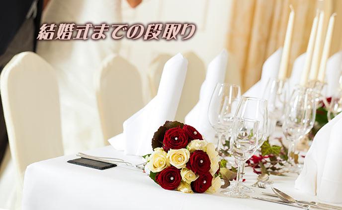 結婚の段取りスケジュール平穏無事な結婚式を迎える準備