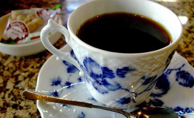 マイセンのコーヒーカップ