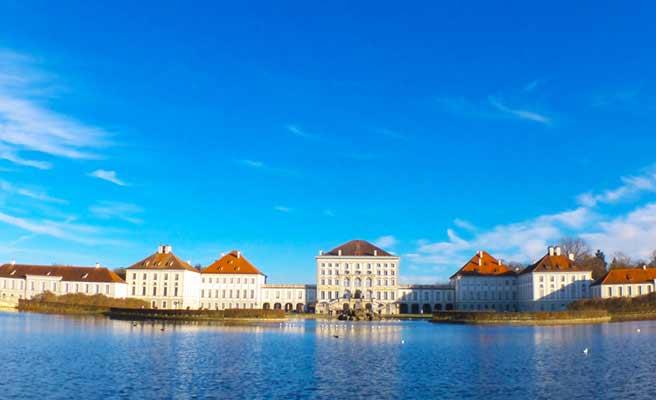 ミュンヘンのニンフェンブルク城