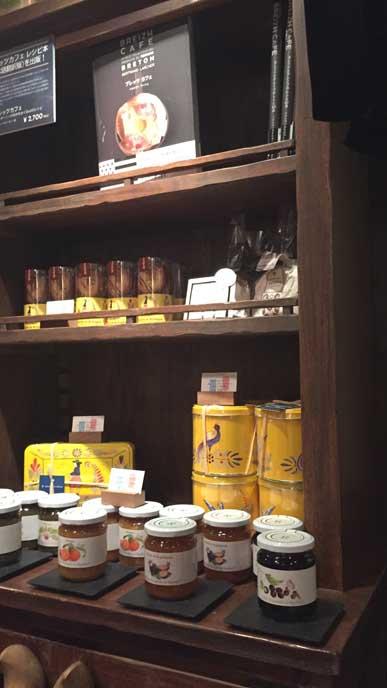 Le Breizh Caf?'銀座店(クレープリー)