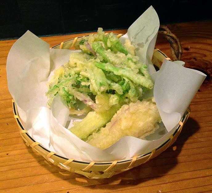 サクサクの天ぷらもとっても美味しい!
