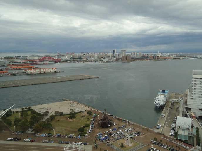 展望台からは神戸の港町を一望!