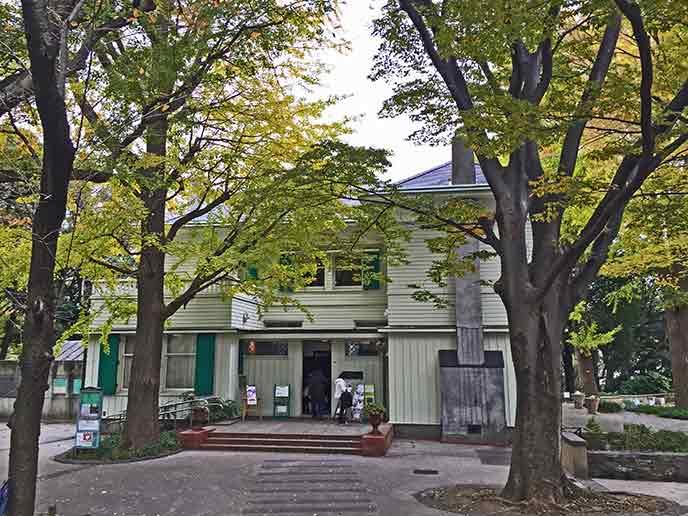素敵な雰囲気のエリスマン邸
