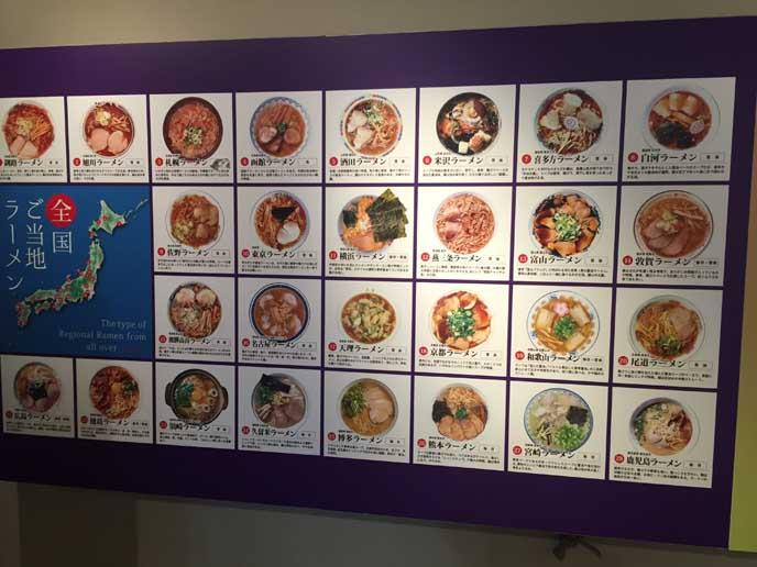 これまでに、ラーメン博物館に出店したラーメン店の一覧を見ることができます☆