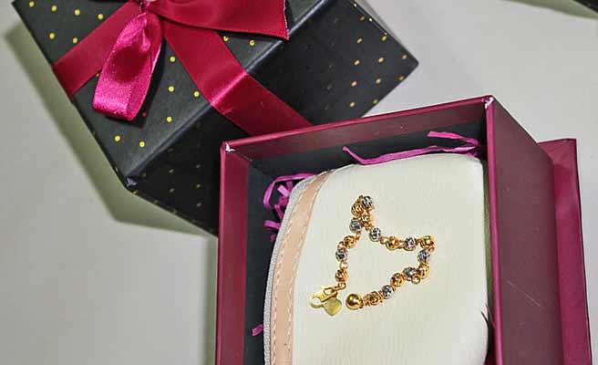 ブレスレットのプレゼント