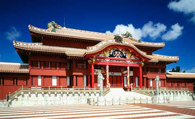 沖縄首里城正殿