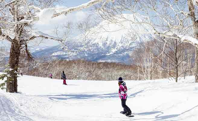 ニセコのスキー場
