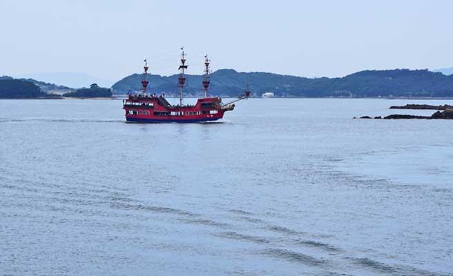 九十九島パールシーリゾートの遊覧船